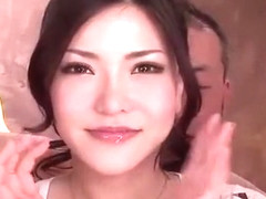 Amazing Japanese chick Anri Okita in Incredible Gangbang, Big Tits JAV clip