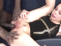 Real Interracial Castings Teen Fucks Black First Time