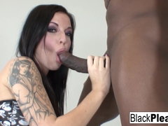 Aria Aspen in Tattooed Starlet Aria Really Loves The Black Cock - BlackPlease