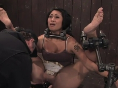 DragonLilyHard foot caning, harder orgasms.