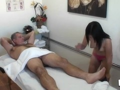 Asia Zo is a dirty masseuse that blows Jay's cock