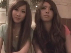 Incredible Japanese girl in Amazing Threesomes, Lesbian/Rezubian JAV video
