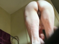 unaware wife pussy and ass in detail