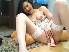 Blue Angel Enjoys Solo Masturbation Part 03