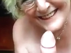 granny priceless bj and mistress gives huge cock hj