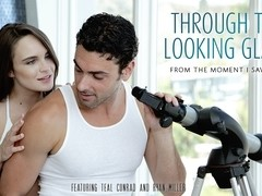 Teal Conrad & Ryan Driller in Through The Looking Glass Video