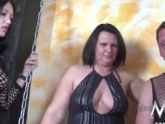 Meli Deluxe in Busty Cougar helps German Couple - MMVFilms