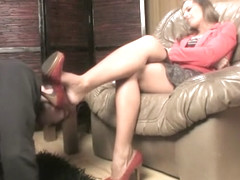 FootFetishSanctuary - FFS-016 - Mistress Jessica - Favorite Red High Heel