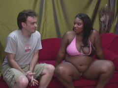 Crazy pornstar Bonnie Blaze in best interracial, big tits sex scene