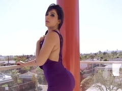 Sexy Valentina Nappi gets her pussy fucked by massive cock