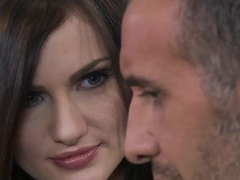 Coquette Lily Carter tempts Keiran Lee with her sexy charms