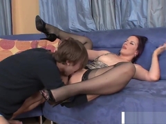 Lush StepMother Caroline Pierce Gets Nailed Hot Teen Friend