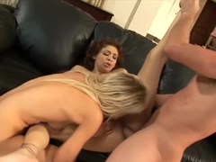 Gorgeous Chanel Chavez shares a hard dick with her sultry girlfriend