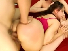 Aurora Jolie Has A Threesome