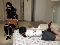 2 chinese girls tied and gagged