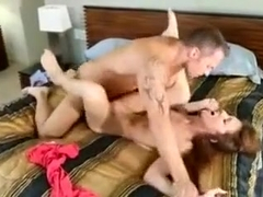 Sexy Babe Is Getting Nailed By Her Best Friends Handsome Dad In His Huge