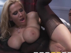 Dirty blonde milf Alanah Rae loves anal sex - Brazzers