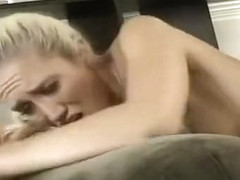 Alana Evans Sits on Ryan Olsen's Face and Smothers Him with Her Slit