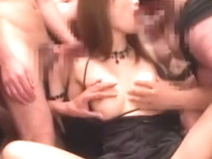 Crazy Japanese slut Hikari Hino in Exotic Big Tits JAV clip