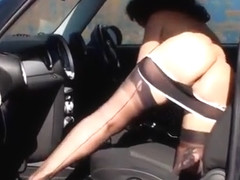 Danica Collins - in the Car