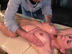 Cherie Deville gives her pussy to Keiran Lee