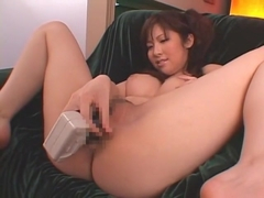 Best Japanese whore Harumi Asano in Hottest Masturbation, Solo Female JAV scene