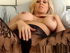 Milf Julia Ann Tries on Lingerie  Masturbates!