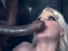 Black Cocks Cumming on Sluts Faces Compilation