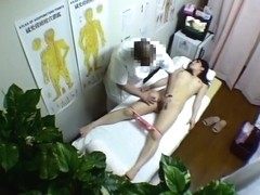 Medical voyeur Asian scenes with hairy pussy fingered