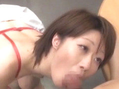 Horny Japanese slut Fuuka Minase, Kotone Amamiya in Amazing Couple, Close-up JAV video