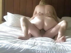 Fabulous homemade chubby, curvy, missionary sex movie