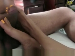 Ignored Toe Tap Footjob Preview