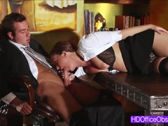 Boss Chad fucked Maddys tight pussy from behind