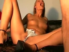Slutty Wife Gets Her Mouth Disciplined