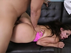 Phat Ass Brunette Teen Evie Olson Drilled Hard And Deep