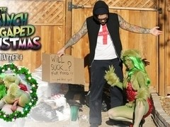 Joanna Angel & Small Hands in How The Grinch Gaped Christmas - Chapter 4 Scene