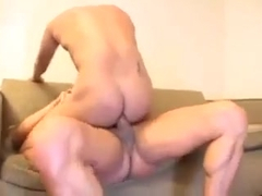 Latin Muscled Couple