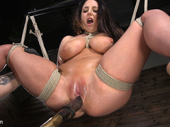The Pope,Angela White in Angela White's First Time in Brutal Bondage and Tormented - TheTrainingofO