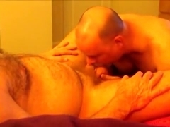 Irish Dad Pops Another Creamy Load.