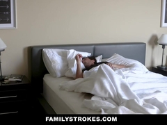 FamilyStrokes - Curvy Stepmom Gets Fat Ass Poked by Son