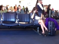 legs at the airport 1
