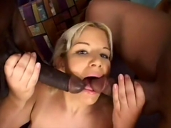 White Girl Gets A Mile of Black Dick