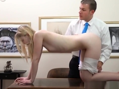 Blonde Teen Fisting Squirt He Was Fondling Himself, Too, And
