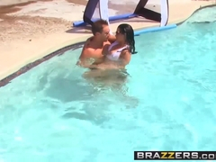 Brazzers - Big TITS in Sports - Abella Anderson Levi Cash - Water Polo Ho