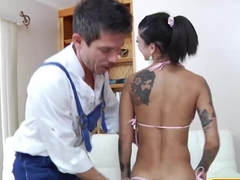 Incredible pornstars Mick Blue, Bonnie Rotten in Horny Big Tits, Babes sex clip