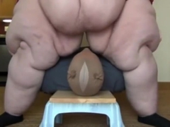 perfect heavyweight ssbbw facesitting