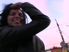 Fabulous pornstar in Amazing Public, POV sex video
