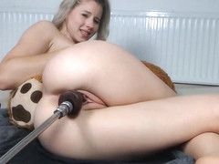 Sexykinkycouple20 Fuck Machine and Squirt