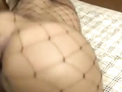 Crazy homemade shemale video with Solo, Lingerie scenes