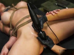 Tied Up And Facefucked In Basement